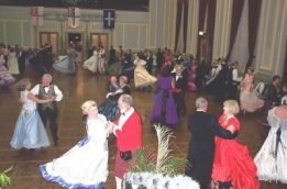 Dancers at Colonial Ball 2005